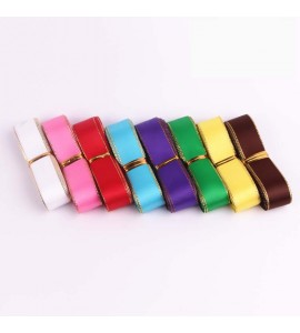 22mm Metallic Single Faced Satin Ribbon Assortment