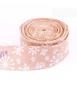 Wired Edge Burlap Ribbon MD00113