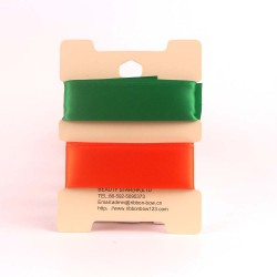 Satin Ribbon 2 Colors Assortment DDZK00102