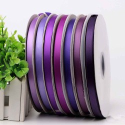 Solid Single Face Satin Ribbon 463-476
