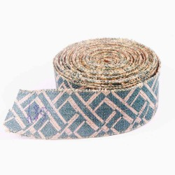 Wired Edge Burlap Ribbon MD00107