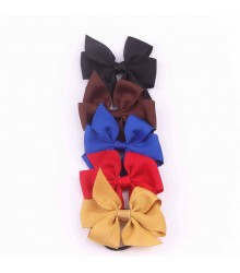 Grosgrain Ribbon Bow with Elastic FQ01705
