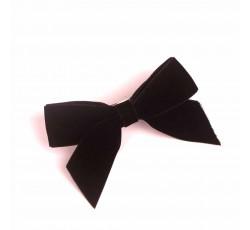 Black Velvet Ribbon Hair Clip RDFJ01301