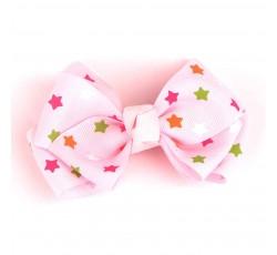 Star Grosgrain Ribbon Hair Bow