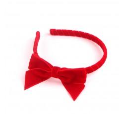 Red Velvet Ribbon Hair Band RDFG01001