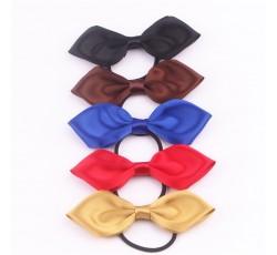 Satin Ribbon Bow with Elastic FQ01305