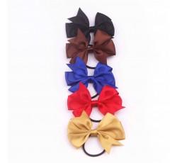 Satin Ribbon Bow with Elastic FQ01605