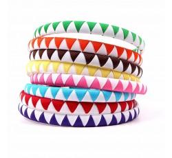 Bicolor Grosgrain Ribbon Hair Band